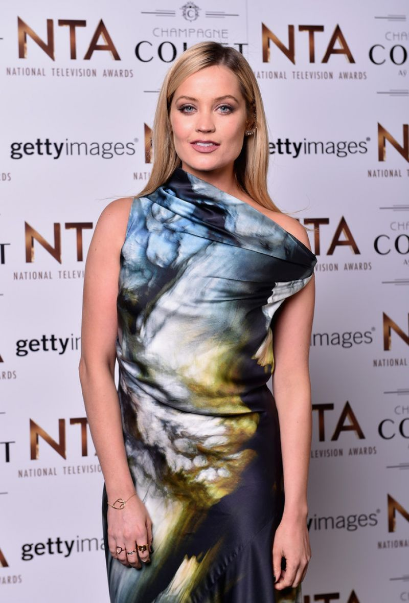 Laura Whitmore At 21st National Television Awards In London