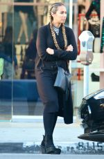 Leona Lewis Shopping At Nasty Gal In West Hollywood