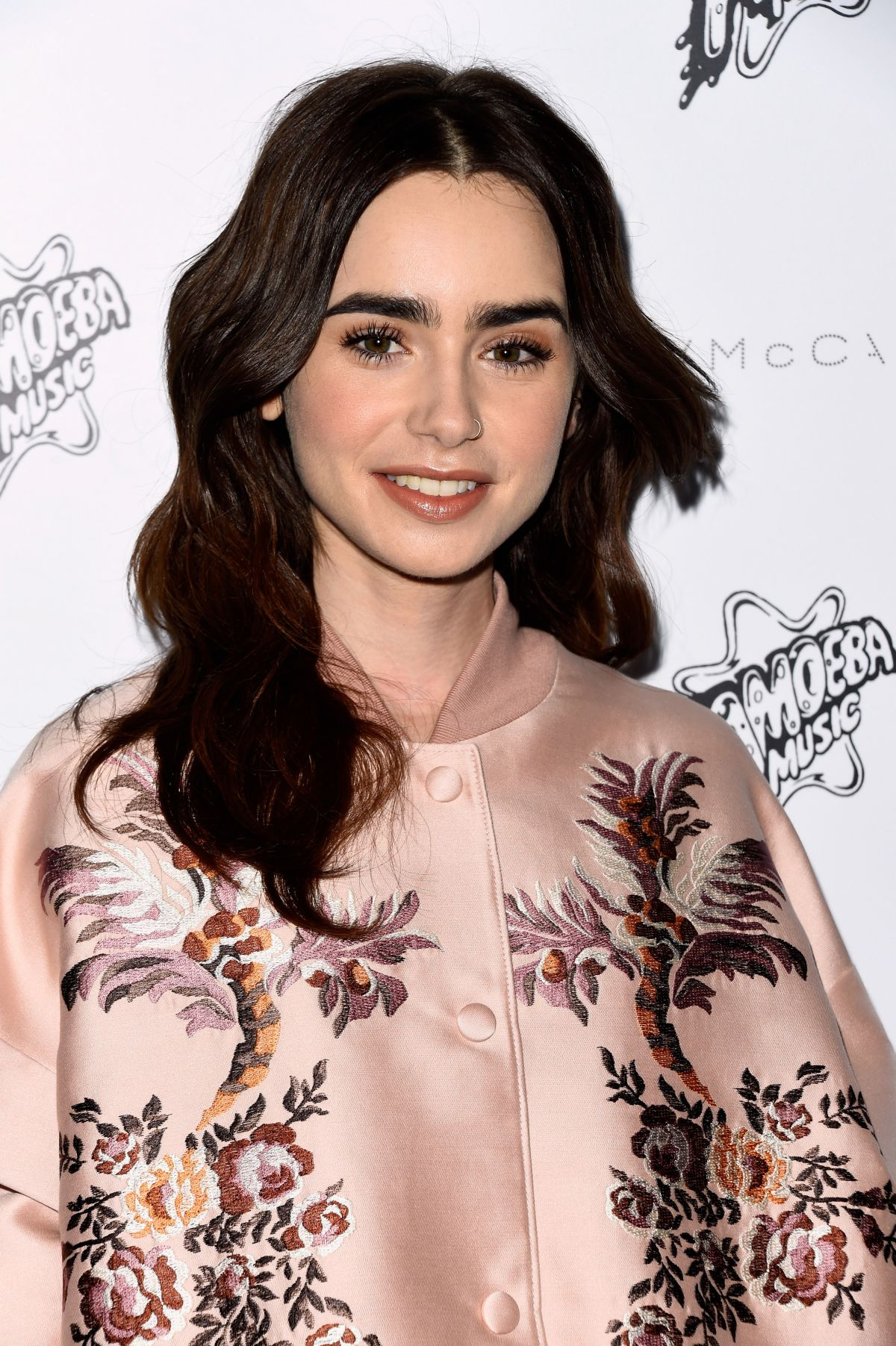Lily Collins At Stella McCartney Autumn 2016 Presentation In Hollywood