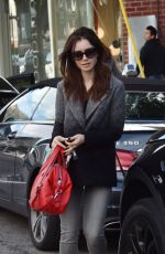 Lily Collins Out In LA