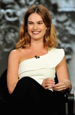 Lily James At 2016 Winter TCA Tour Day 2 In Pasadena
