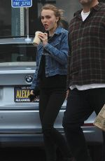 Lily-Rose Depp Leaving Whole Foods In LA