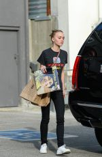 Lily-Rose Depp Out In LA