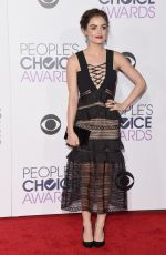 Lucy Hale At 2016 People