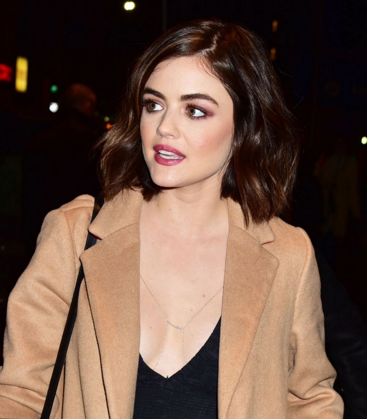 Lucy Hale At Her Hotel In New York