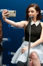 Lucy Hale At The SiriusXM Studios In NYC