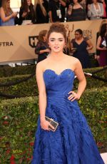 Maisie Williams At 22nd Annual Screen Actors Guild Awards In Los Angeles