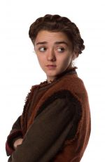 Maisie Williams In Doctor Who Promos October 2015