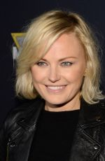 Malin Akerman At The Monster Jam At Angel Stadium Of Anaheim