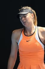 Maria Sharapova At Australian Open Championship In Melbourne
