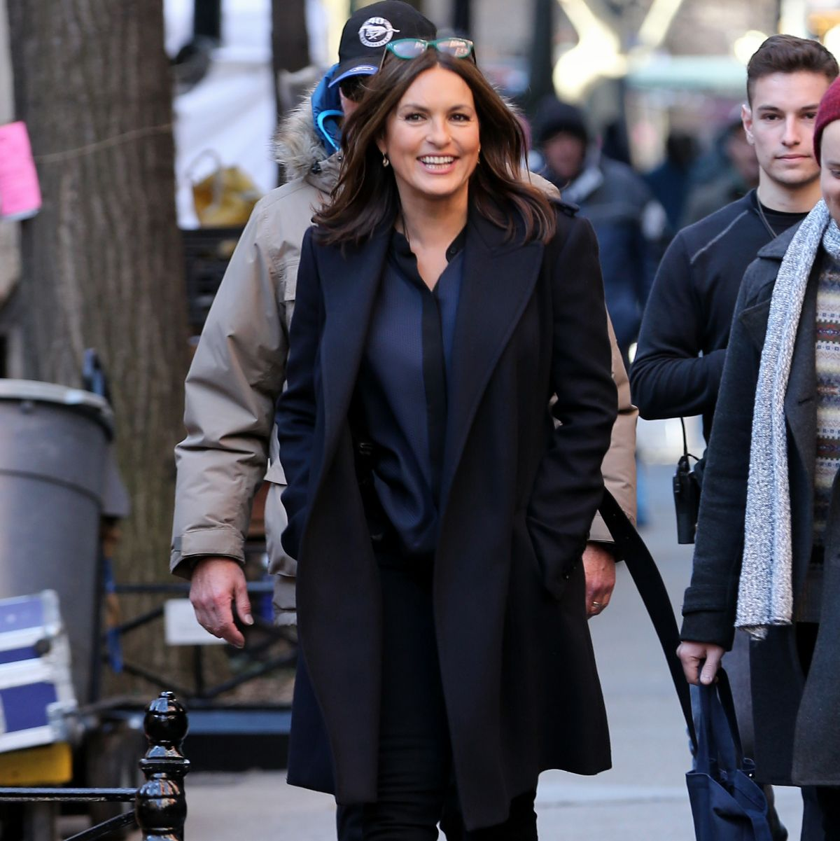 Mariska Hargitay Out In NYC