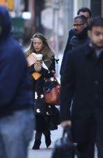Mary Kate Olsen Out In New York City