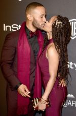 Meagan Good At InStyle And Warner Bros. Golden Globe Awards Post-Party