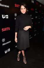 Meghan Markle At Suits Season 5 Premiere & Press Conference