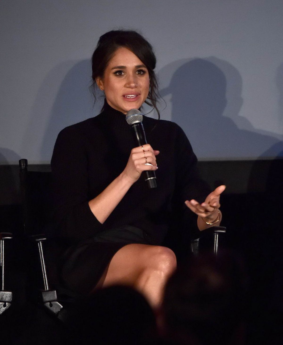 Meghan Markle At Suits Season 5 Premiere & Press