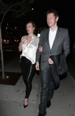Milla Jovovich Seen At BOA for CAA Party In Beverly Hills