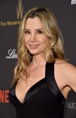 Mira Sorvino At The Weinstein Company and Netflix Golden Globe Party