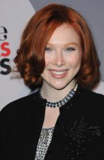 Molly Quinn At Minnie Mouse Rocks The Dots Art And Fashion Exhibit