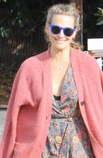 Molly Sims Out In Brentwood