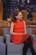 Natalie Portman At The Tonight Show With Jimmy Fallon