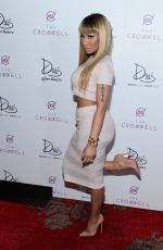 Nicki Minaj Celebrating The New Year At Drai