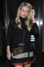 Nicky Hilton Leaves The Palms In Beverly Hills