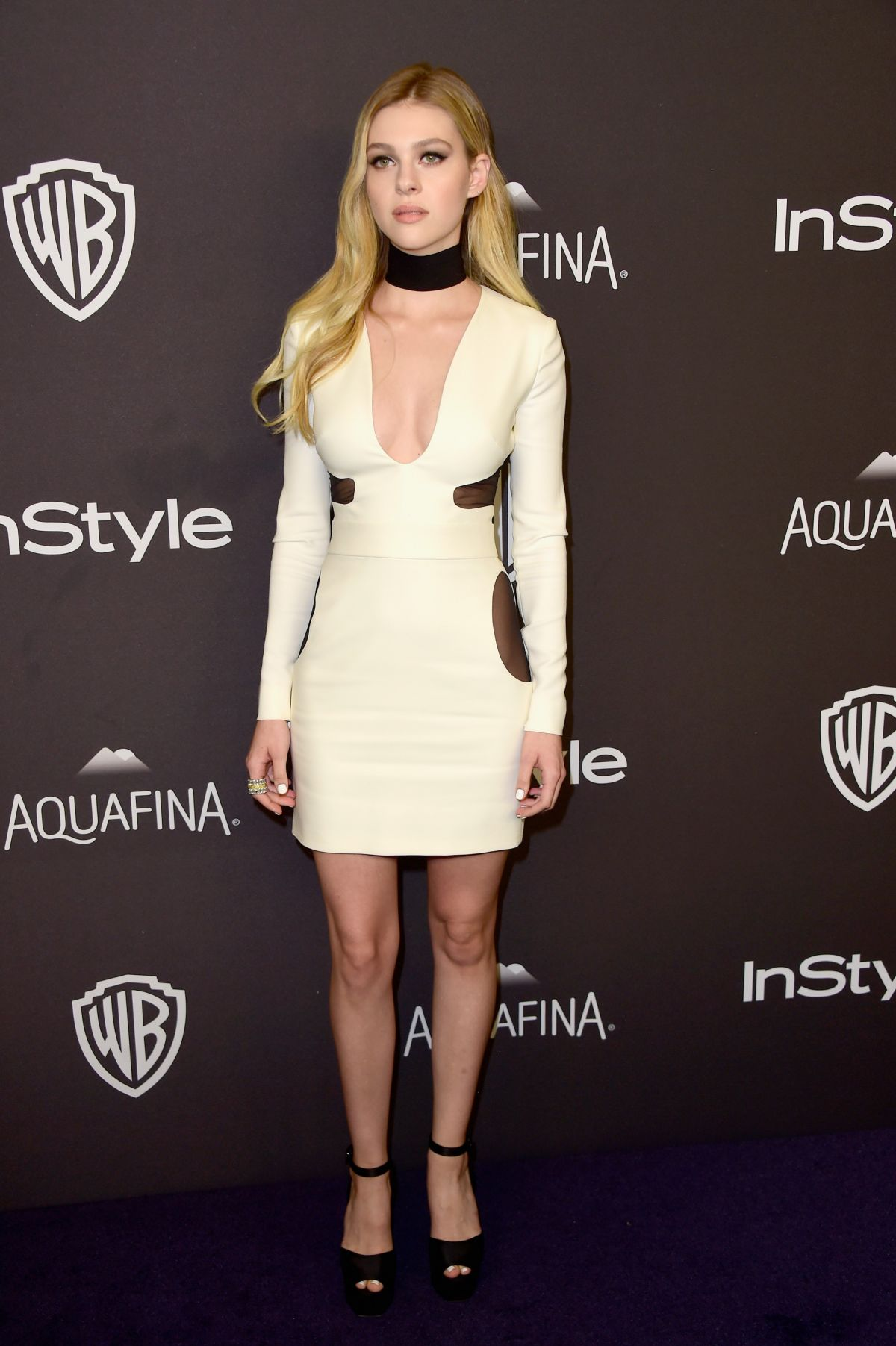 Nicola Peltz At InStyle And Warner Bros. Golden Globe Awards Post-Party