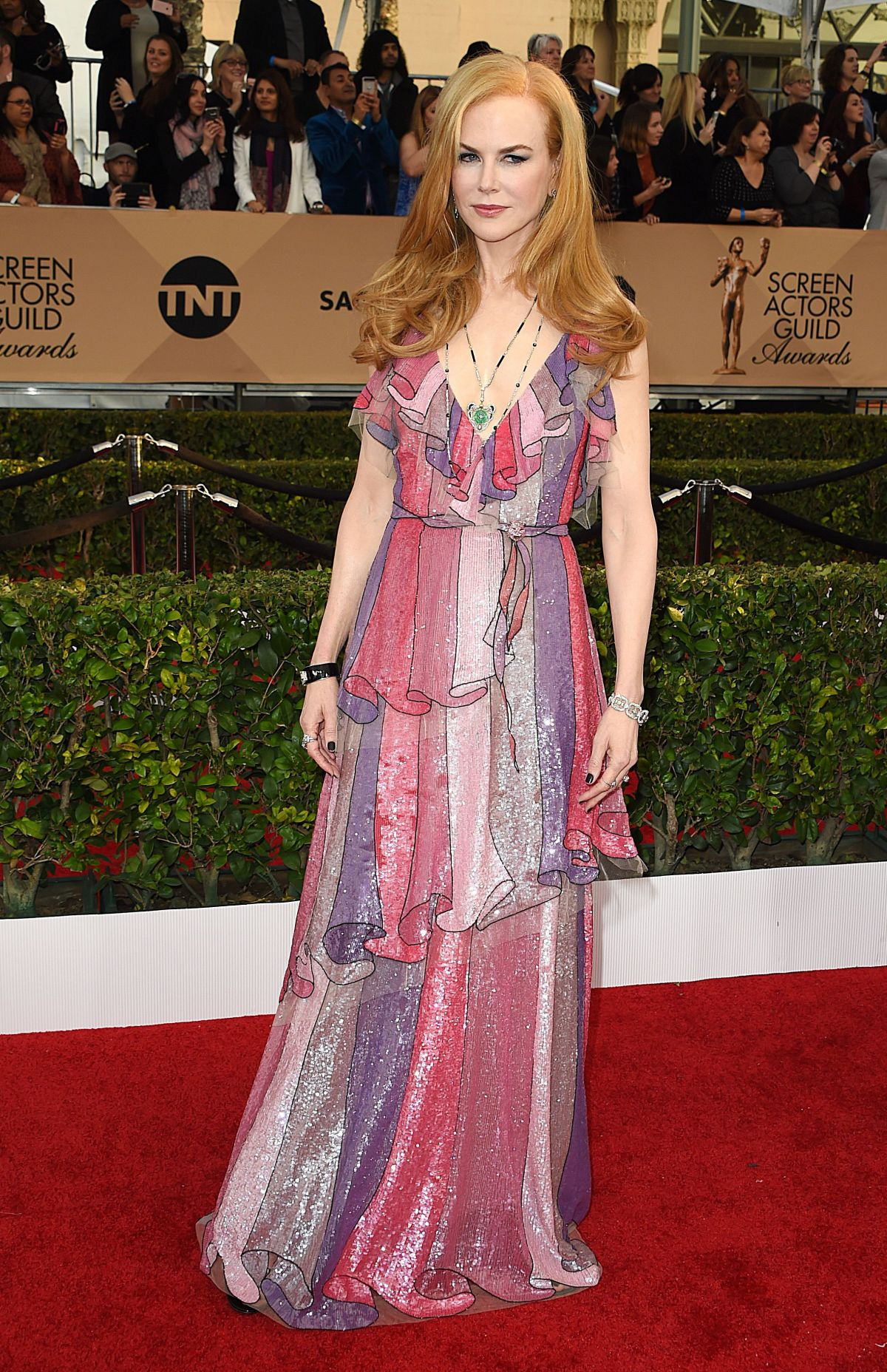 Nicole Kidman At 22nd Annual Screen Actors Guild Awards at Shrine Auditorium In LA