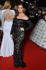 Nikki Sanderson At 2016 National Television Awards In London