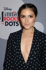 Olivia Culpo At Minnie Mouse Rocks The Dots Art and Fashion Exhibit