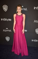 Olivia Holt At InStyle And Warner Bros. Golden Globe Awards Post-Party