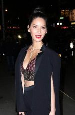 Olivia Munn Heading To The Late Show With Stephen Colbert