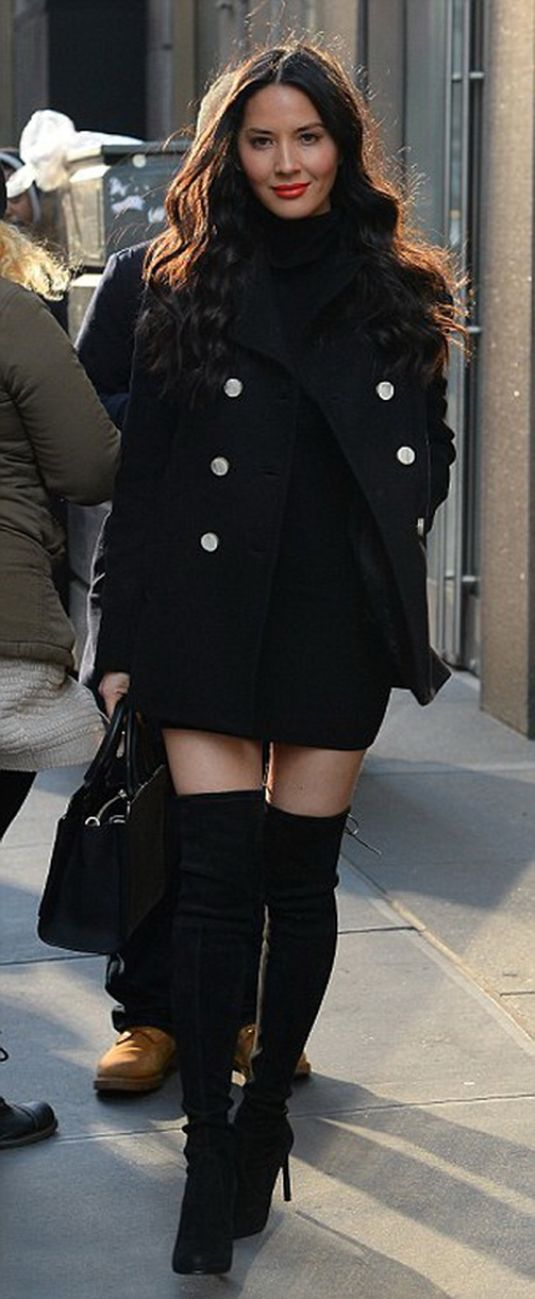 Olivia Munn Out In NY