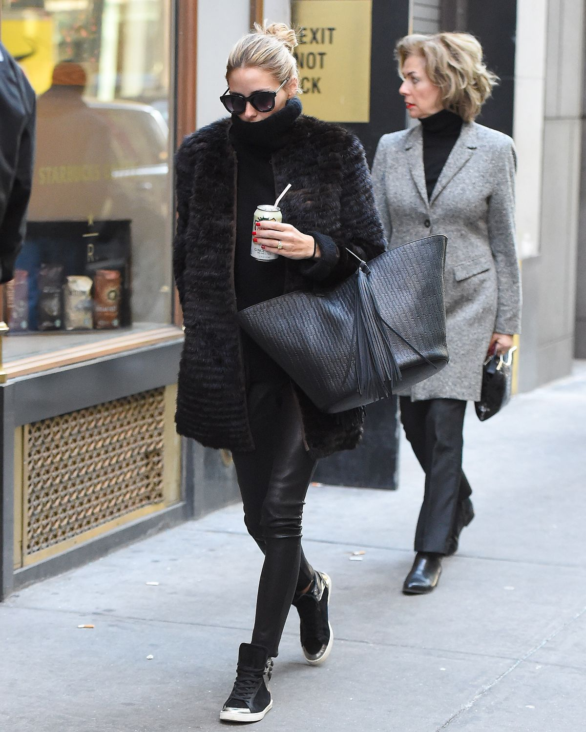 Olivia Palermo Out In NYC