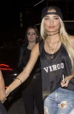 Pia Mia Perez Leaving The Nice Guy In West Hollywood
