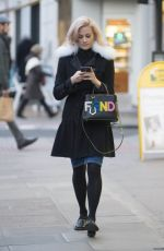 Pixie Lott Out & About In London