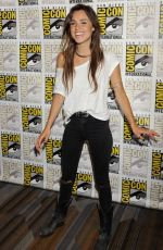 Poppy Drayton At The Shannara Chronicles Press Room At Comic-Con International In San Diego
