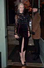 Portia Freeman At Private Dinner Of Creme De La Mer In London