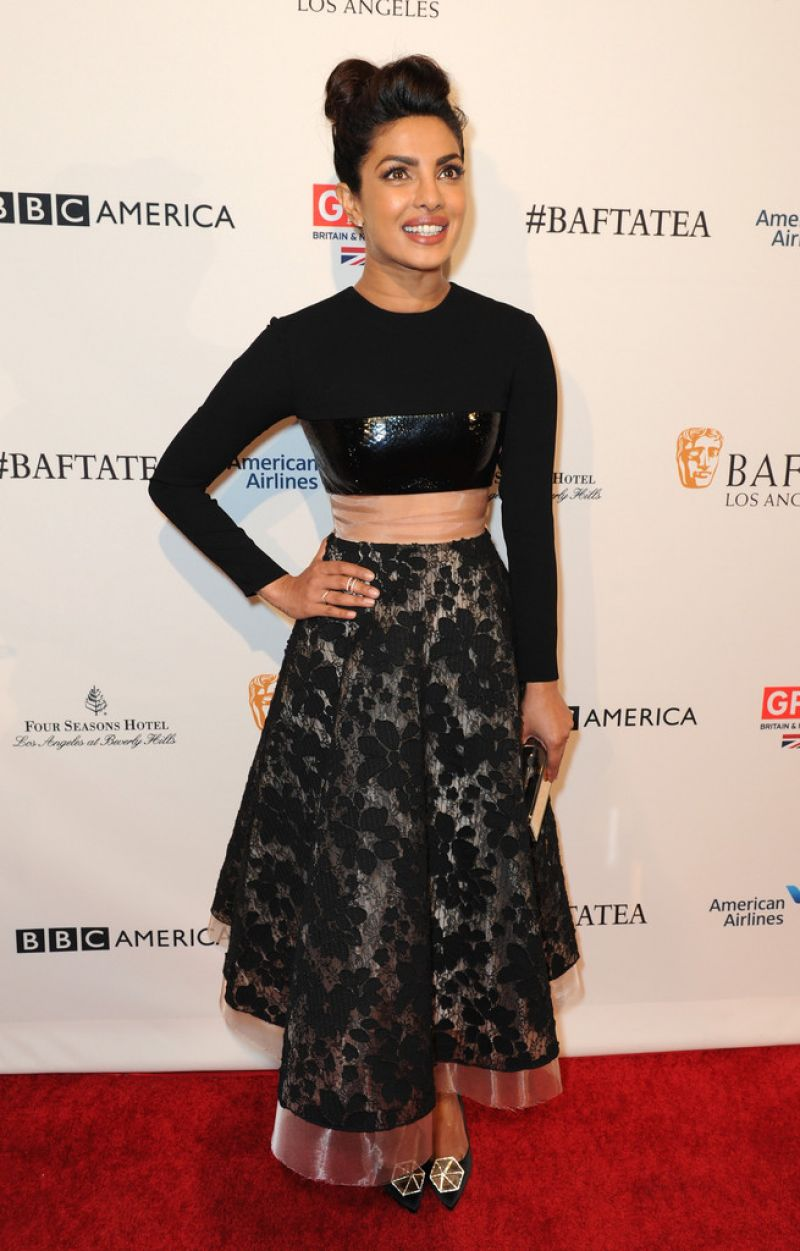 Priyanka Chopra At BAFTA Los Angeles Awards Season Tea