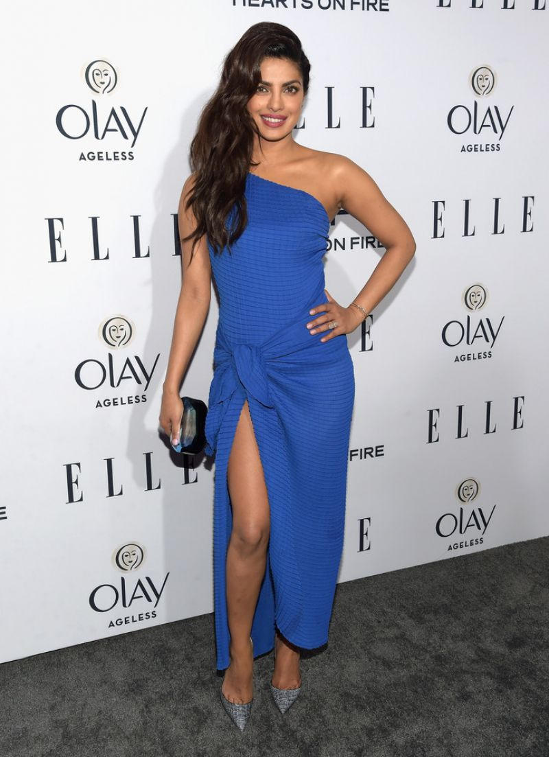 Priyanka Chopra At ELLE