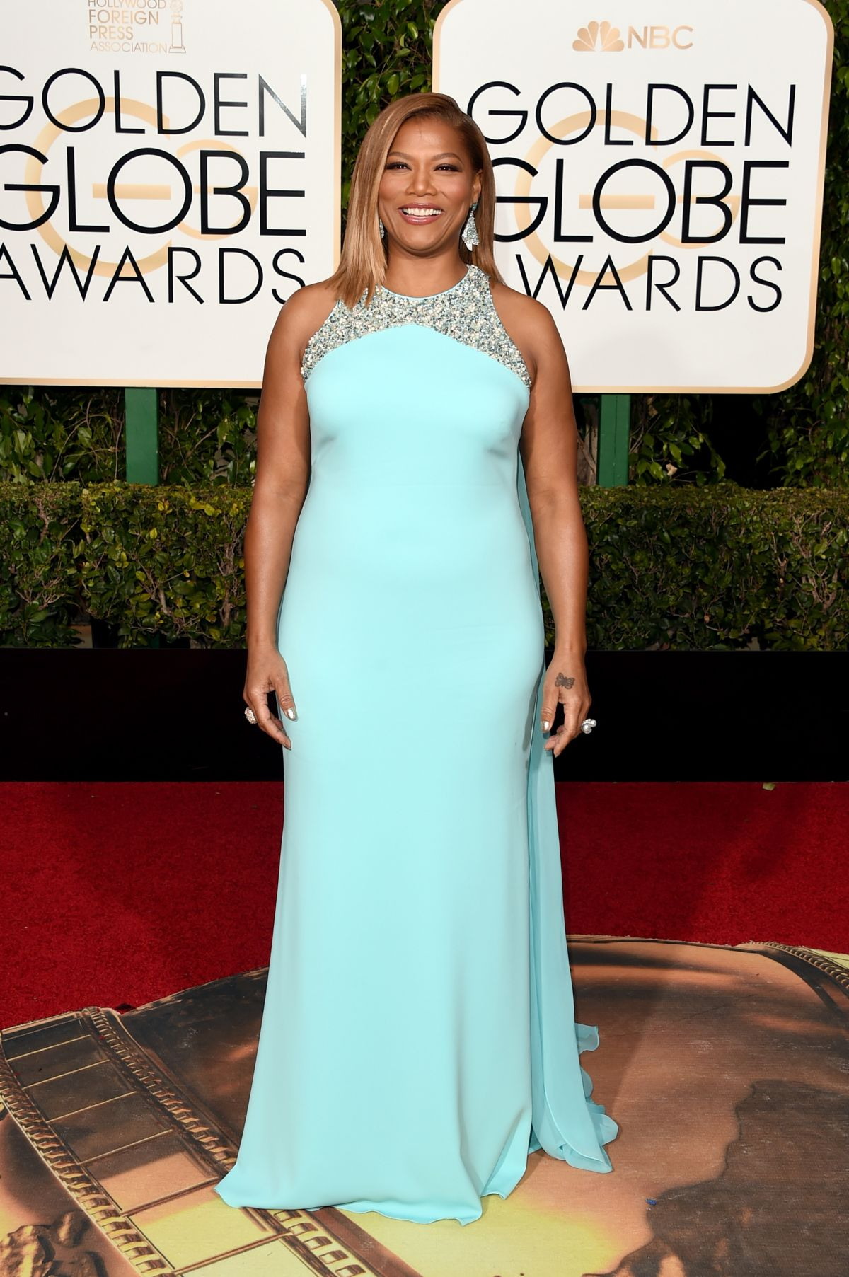 Queen Latifah At 73rd Annual Golden Globe Awards In Beverly Hills