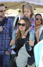 Rachael Leigh Cook At A Farmers Market In LA