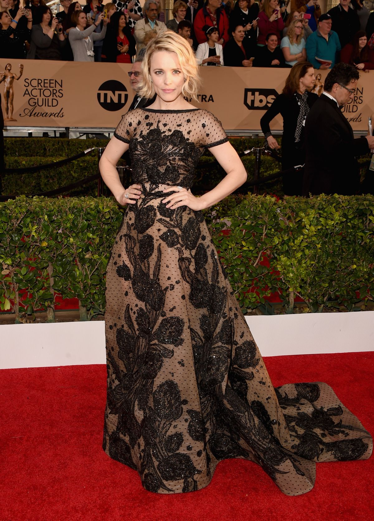 Rachel McAdams At 22nd Annual Screen Actors Guild Awards In Los Angeles