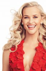 Reese Witherspoon At Alexi Lubomirski Photoshoot For Harper