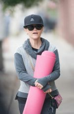 Reese Witherspoon Is Seen Off To Yoga In LA