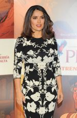Salma Hayek At The Prophet Photocall In Mexico City