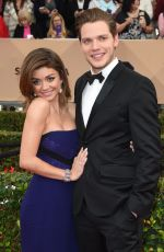 Sarah Hyland At 22nd Annual Screen Actors Guild Awards In Los Angeles