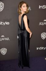 Sarah Hyland At InStyle And Warner Bros. Golden Globe Awards Post-Party