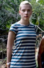Scarlett Johansson At 2007 OXFAM Tour In India