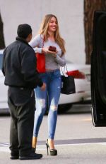 Sofia Vergara In Jeans Out In Beverly Hills